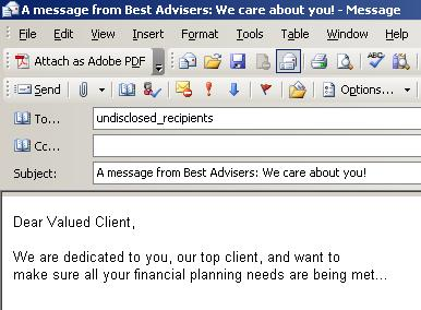 Dear Valued Client