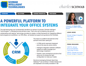 Schwab Intelligent Technologies website