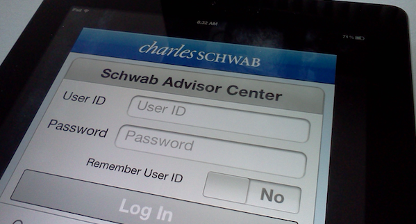 Schwab Advisor Center iPhone