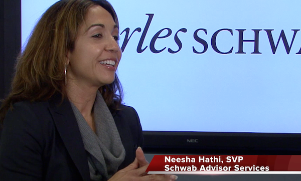 Neesha Hathi, Senior Vice President of Schwab Advisor Services