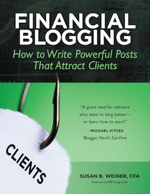 "Susan Weiner of InvestmentWriting.com: With dictation software, ""you can boost your productivity by capturing your blog post ideas or full-fledged posts when inspiration strikes."""