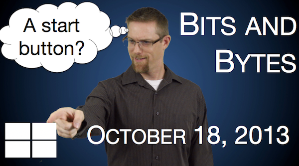 Watch FPPad Bits and Bytes for October 18, 2013