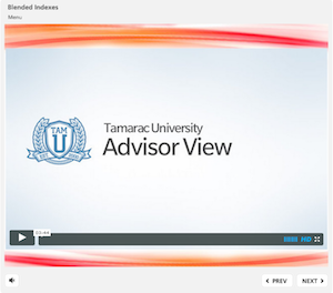 Tamarac University Online includes hours of video tutorials to guide users through various features
