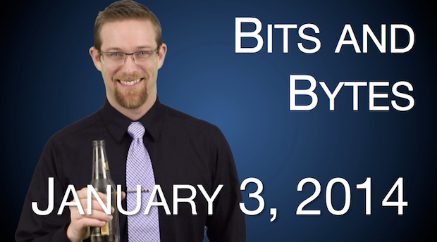 Watch FPPad Bits and Bytes for January 3, 2014