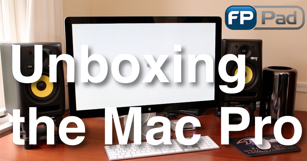 Watch the Mac Pro unboxing on YouTube