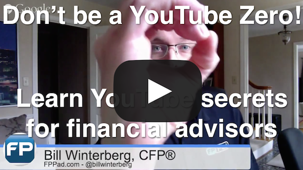 Learn YouTube secrets for financial advisors