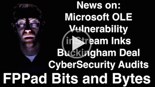 Watch FPPad Bits and Bytes for October 24, 2014