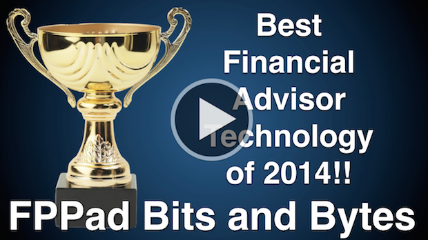 Watch my broadcast on the Best Tech of 2014 for financial advisors