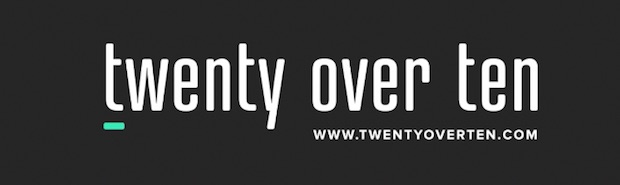 Twenty over ten logo 620