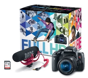 Canon EOS Rebel T6i Video Creator Kit