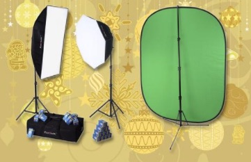 Deluxe Video Studio Chromakey Starter Kit
