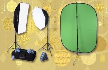 Deluxe Video Studio Chromakey Starter Kit